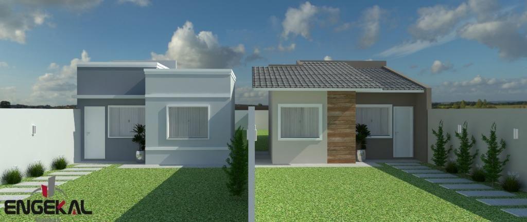 Casa com 02 dormitórios, sendo 01 suíte à venda, 65 m² por R$ 200.000 - Residencial Moriá - Sinop/MT