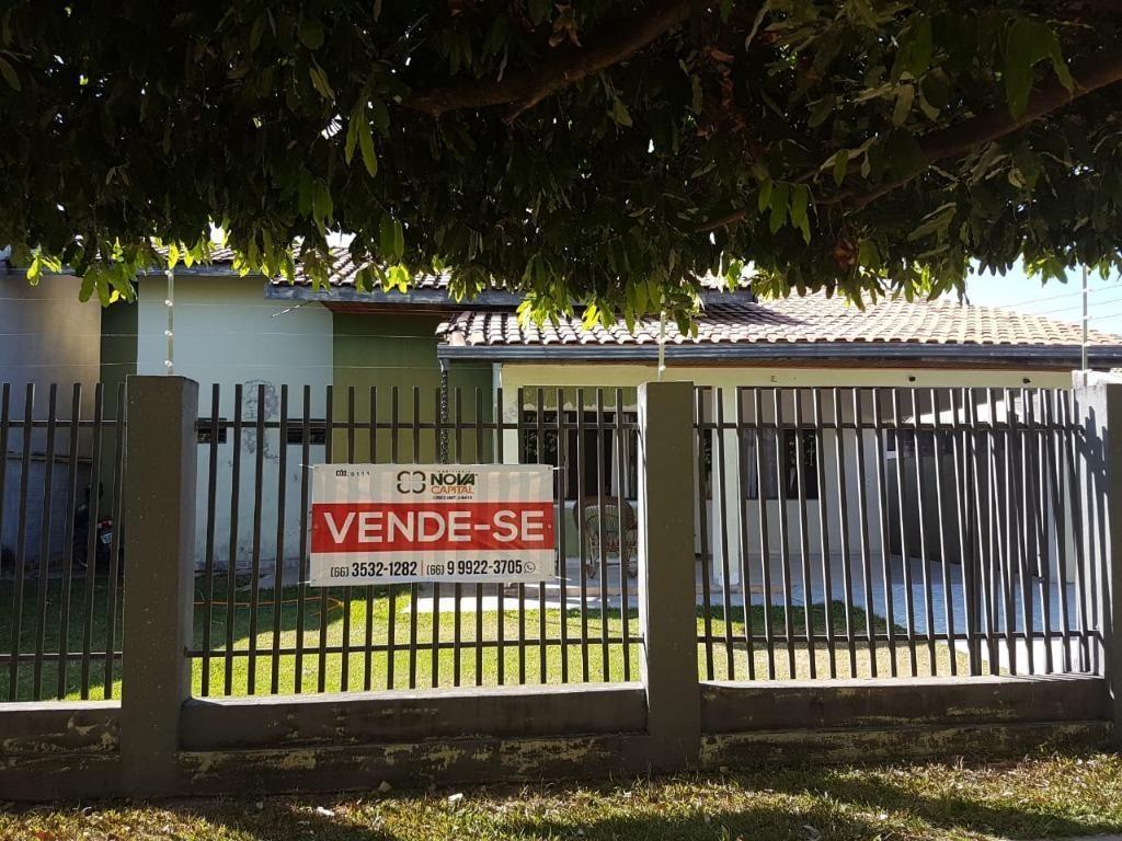 CASA RESIDENCIAL À VENDA, SETOR COMERCIAL, SINOP - CA0111.