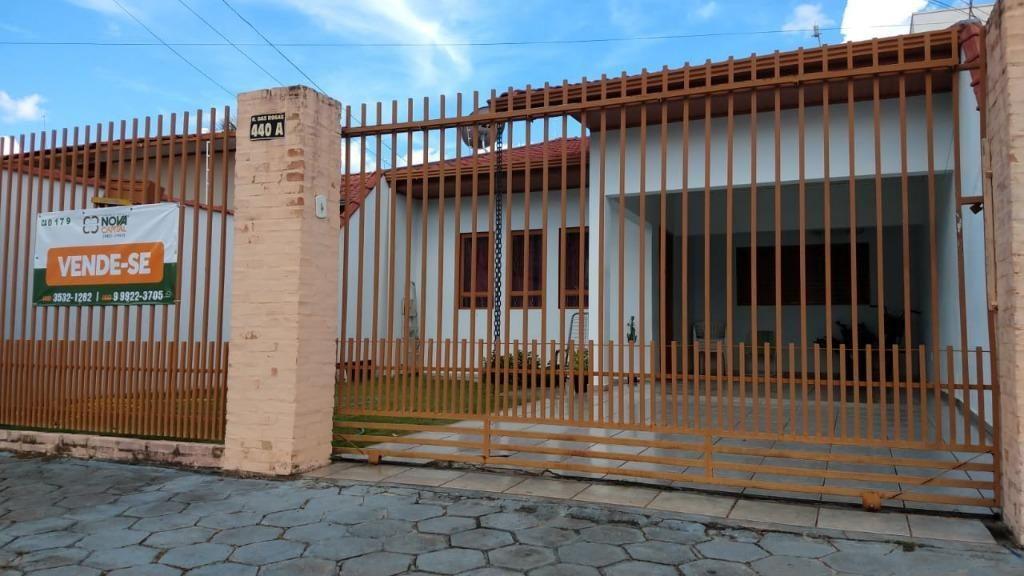 Casa com 02 dormitórios à venda, 100 m² por R$ 350.000 - Setor Residencial Sul - Sinop/MT
