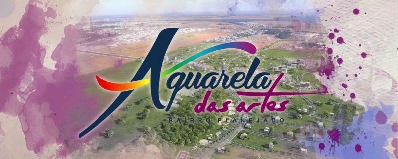TERRENO A VENDA NO AQUARELA DAS ARTES - 55 MIL + ASSUMIR PARCELAS