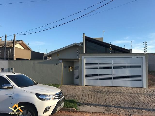 Casa a venda no Jardim das Oliveiras em Sinop/MT