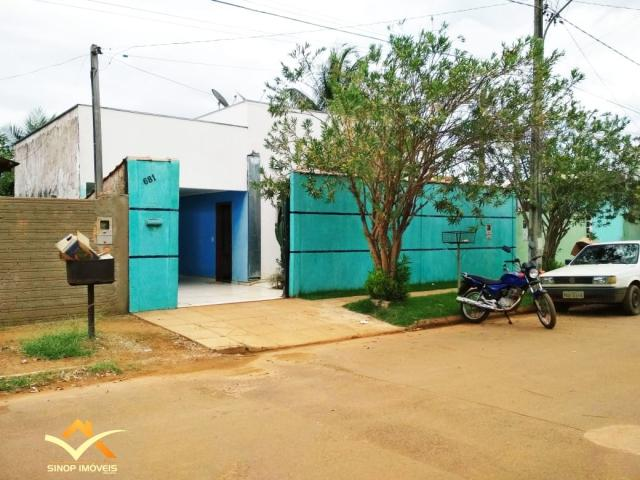 Casa a venda no RESIDENCIAL LISBOA em Sinop/MT